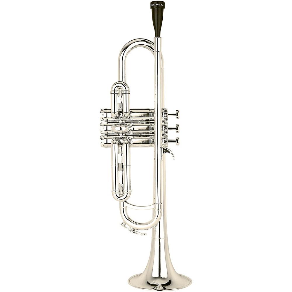 Cool Wind Ctr-200 Metallic Series Plastic Bb Trumpet Silver 1500000189782