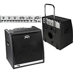Click here to buy Peavey KB 5 150 Watt 2x10 4-Channel Keyboard Amp by Peavey.