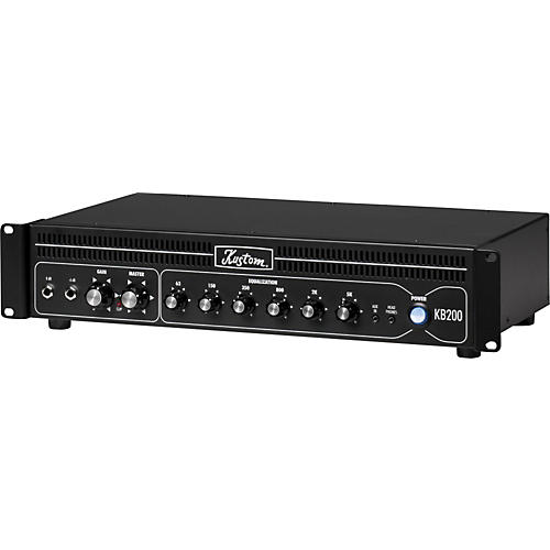 kustom kb200hr 200w rackmount bass amp head black guitar center. Black Bedroom Furniture Sets. Home Design Ideas