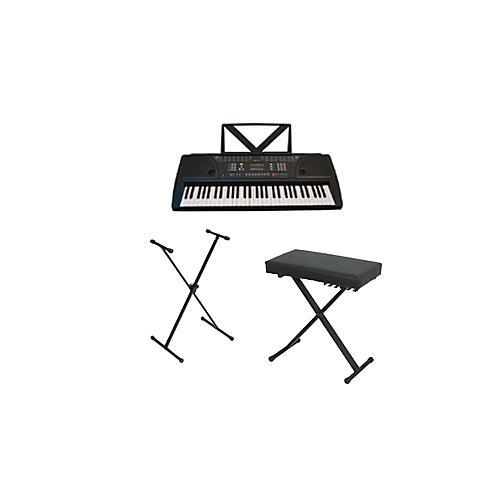 Huntington KB61 Portable Keyboard w/ Stand and Bench-thumbnail
