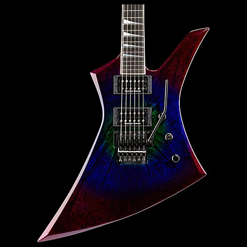 Jackson KE2 Kelly USA Electric Guitar Eerie Dess Swirl