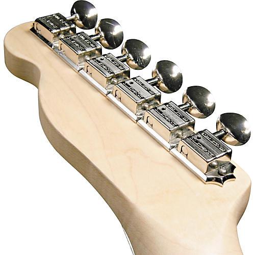 Kluson KF6B F-Style Guitar Tuning Machines - 6-in-Line Bolt Bushing-thumbnail