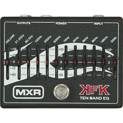 MXR KFK-1 Kerry King Ten Band Equalizer-thumbnail