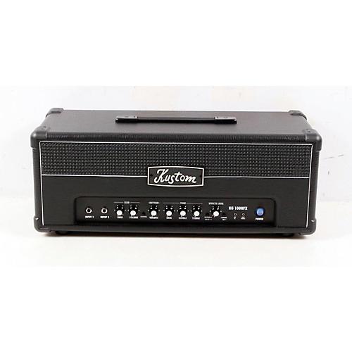 Kustom KG100HFX 100W Guitar Amp Head with Digital Effects Black 886830995941