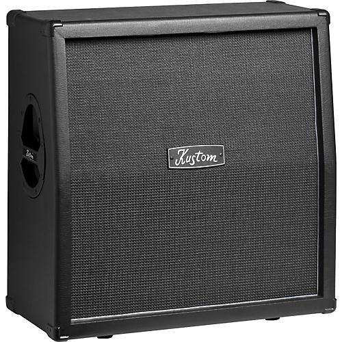 Kustom KG412 4x12 Guitar Speaker Cabinet Black Slant