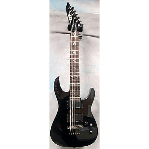 In Store Used KHJR Black Electric Guitar-thumbnail