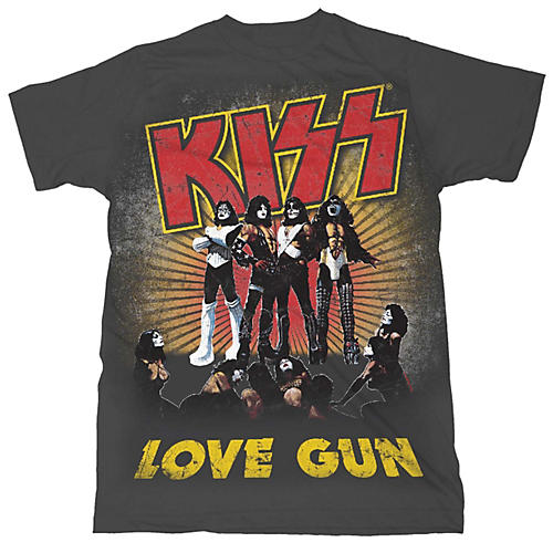Fea Merchandising KISS - Love Gun T-Shirt-thumbnail