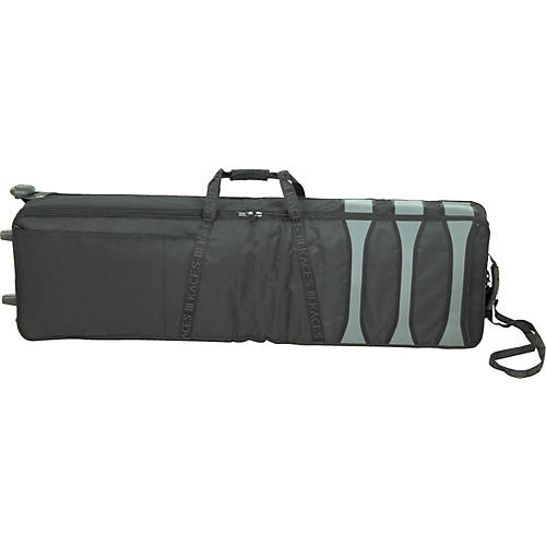 Musician's Gear KKP-15KB 88-Key Slimline/Controller Wheeled Soft Case