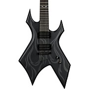 B.C. Rich KKW37-SBK Kerry King Signature Series Warlock 7-String Electric Guitar