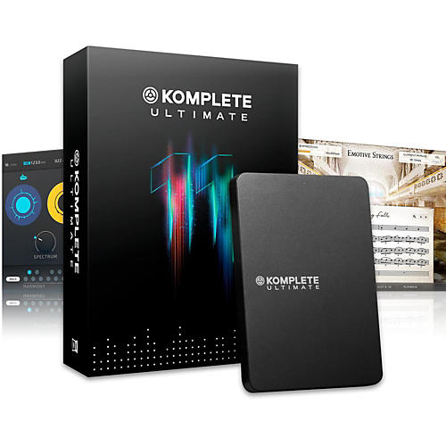 Native Instruments KOMPLETE 11 ULTIMATE Education 5-Pack-thumbnail