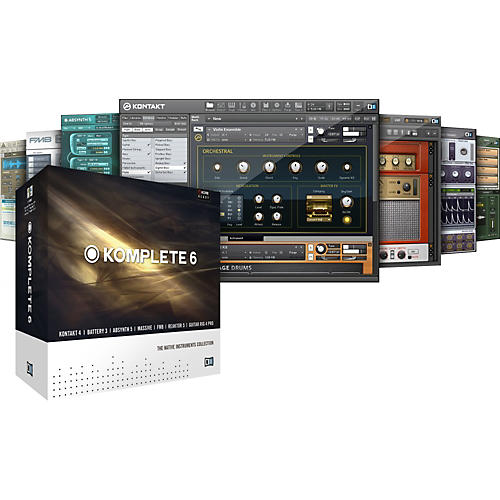 Native Instruments KOMPLETE 6 Software Upgrade-thumbnail
