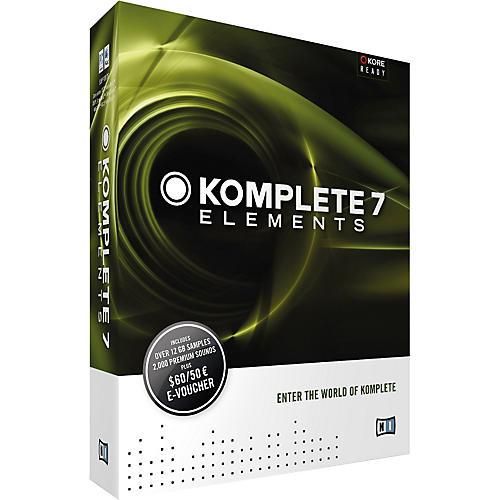 Native Instruments KOMPLETE 7 ELEMENTS Software