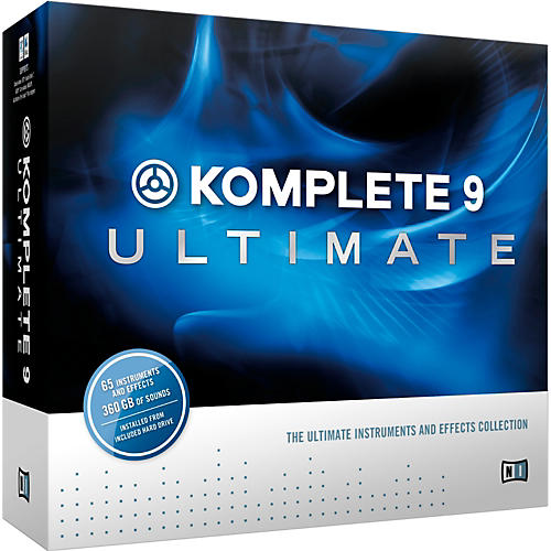 Native Instruments KOMPLETE 9 Ultimate CRG-thumbnail