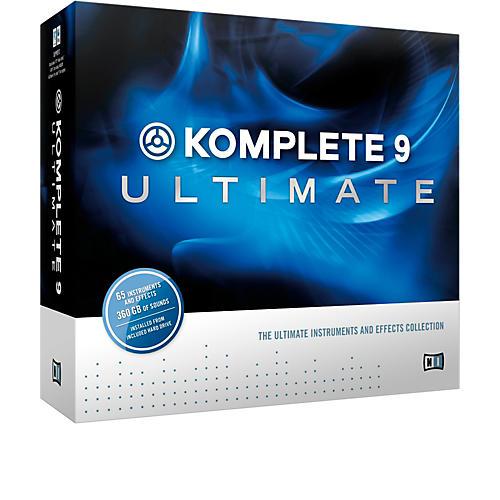 Native Instruments KOMPLETE 9 Ultimate Upgrade for K9-thumbnail