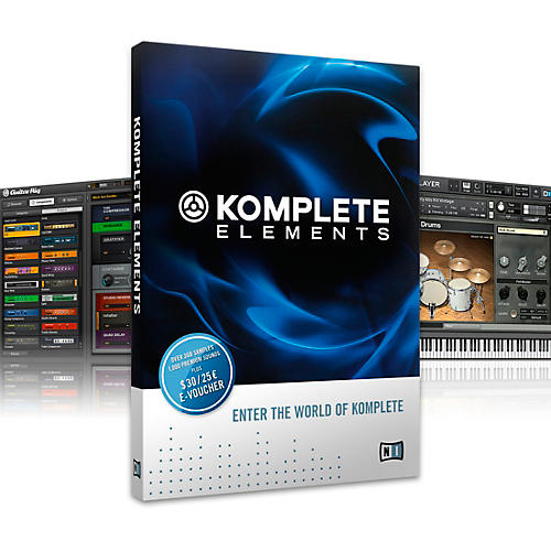 Native Instruments KOMPLETE Elements Software-thumbnail