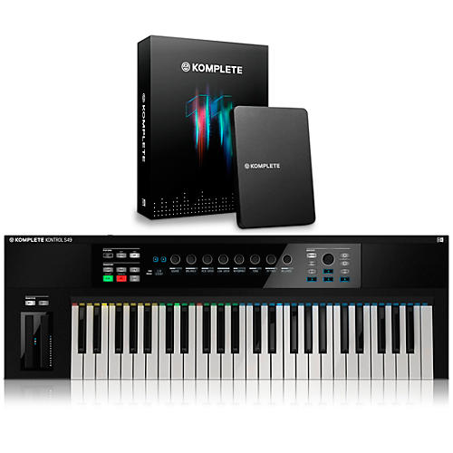 Native Instruments KOMPLETE KONTROL S49 Keyboard Controller with KOMPLETE 11-thumbnail