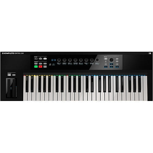 Native Instruments KOMPLETE KONTROL S49 Keyboard Controller-thumbnail