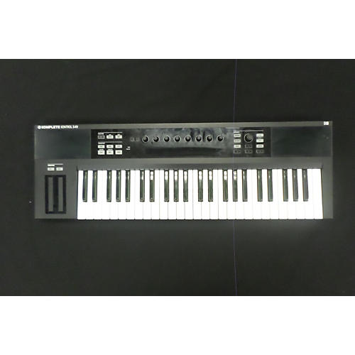 used native instruments komplete kontrol s49 midi controller guitar center. Black Bedroom Furniture Sets. Home Design Ideas
