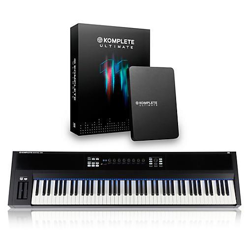 Native Instruments KOMPLETE KONTROL S88 Keyboard Controller with KOMPLETE 11 Ultimate