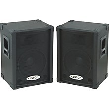 Kustom PA KPC12P Powered Speaker Pair