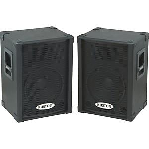 Kustom PA KPC12P Powered Speaker Pair by Kustom PA