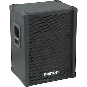 Kustom PA KPC15 15 inch PA Speaker Cabinet with Horn by Kustom PA
