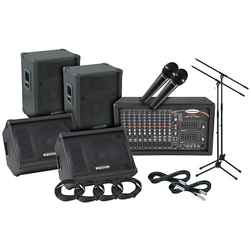 Kustom PA KPC15 Harbinger PA/Monitor Package