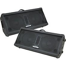 """Kustom PA KPC210M Dual 10"""" 2-Way Monitor Wedge Pair"""
