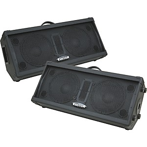 Kustom PA KPC210M Dual 10 inch 2-Way Monitor Wedge Pair by Kustom PA