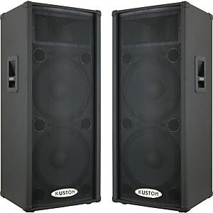 Kustom PA KPC215HP Powered Speaker Pair by