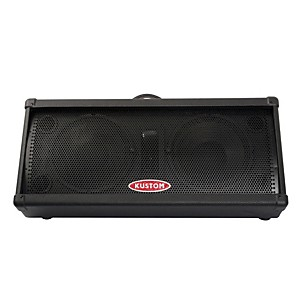 Kustom PA KPM210 100 Watt Dual 10 inch 2-Way Powered Monitor by