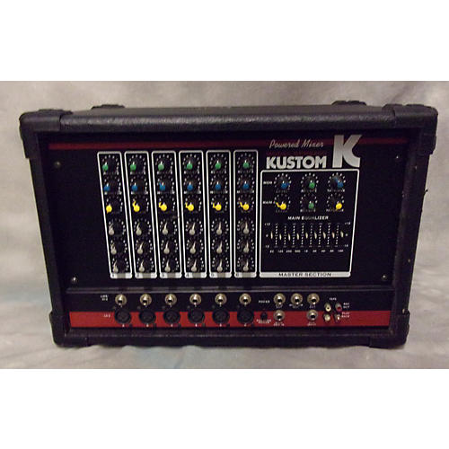 Kustom KPM6200 Powered Mixer