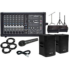 """Kustom PA KPX112 12"""" with Phonic Powerpod 780 Mains and 10"""" Monitors Package"""