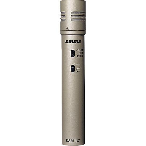 Shure KSM137/SL Cardioid Studio Condenser Microphone-thumbnail