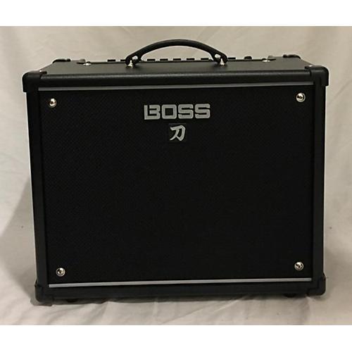 used boss ktn 50 guitar combo amp guitar center