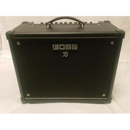 used boss ktn 50 katana 50w x 112 guitar combo amp guitar center. Black Bedroom Furniture Sets. Home Design Ideas