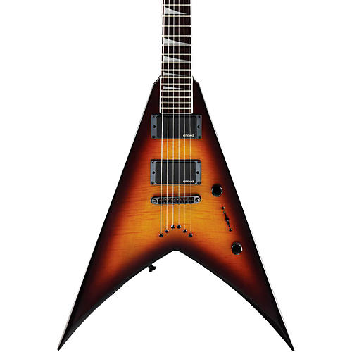 Jackson KVXT King V X Series Electric Guitar Burnt Cherry Sunburst