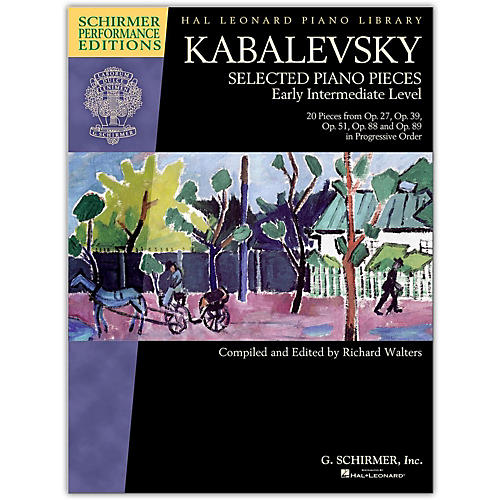 G. Schirmer Kabalevsky: Selected Piano Pieces For Early Intermediate-Performance Editions