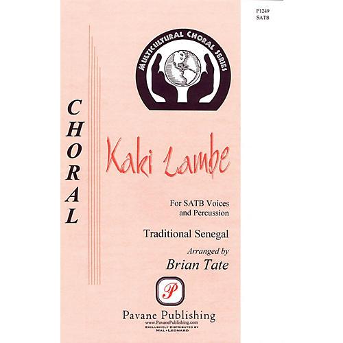 Pavane Kaki Lambe SATB arranged by Brian Tate