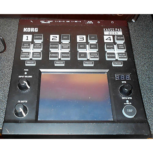 Korg Kaoss Pad Quad Multi Effects Processor-thumbnail