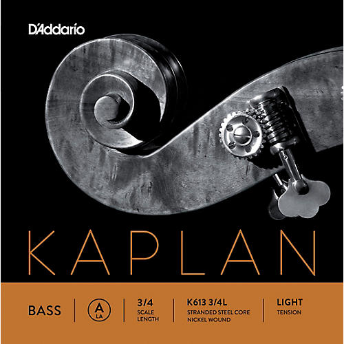 D'Addario Kaplan Series Double Bass A String-thumbnail