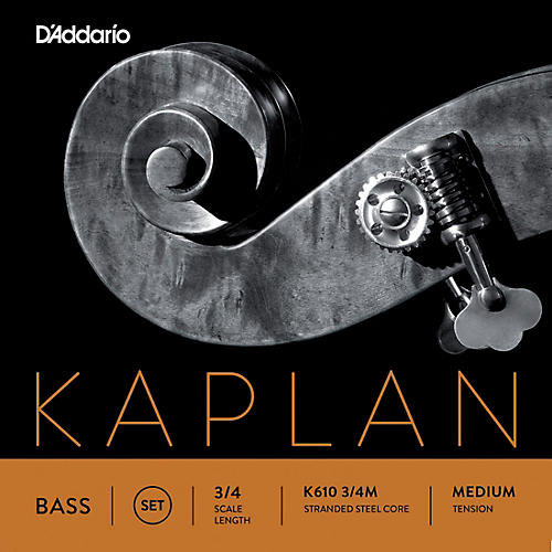 D'Addario Kaplan Series Double Bass String Set-thumbnail
