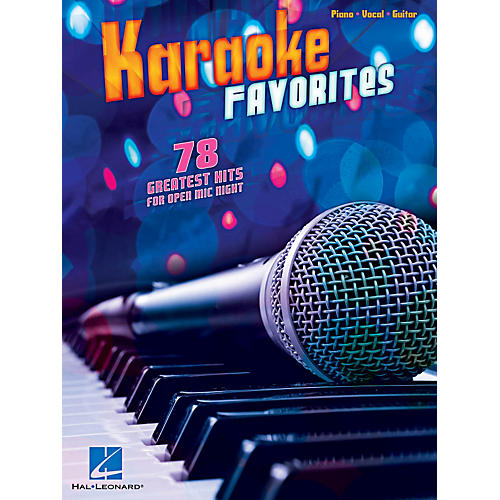 Hal Leonard Karaoke Favorites - 78 Greatest Hits For Open Mic Night for Piano/Vocal/Guitar-thumbnail