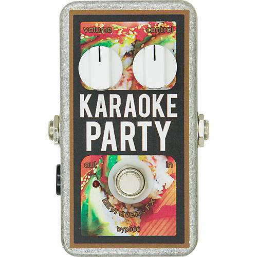 Devi Ever Karaoke Party Overdrive Guitar Effects Pedal