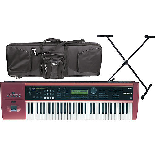 Korg Karma with Case and Stand