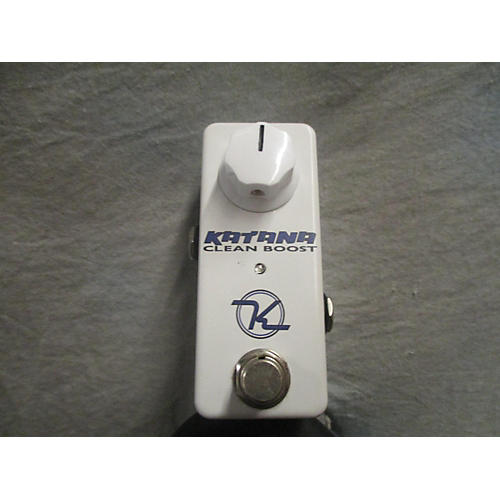 Keeley Katana Clean Boost Mini Effect Pedal