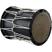 Remo Katsugi Okedaiko Rope-Tuned Drum with Bachi Sticks & Strap