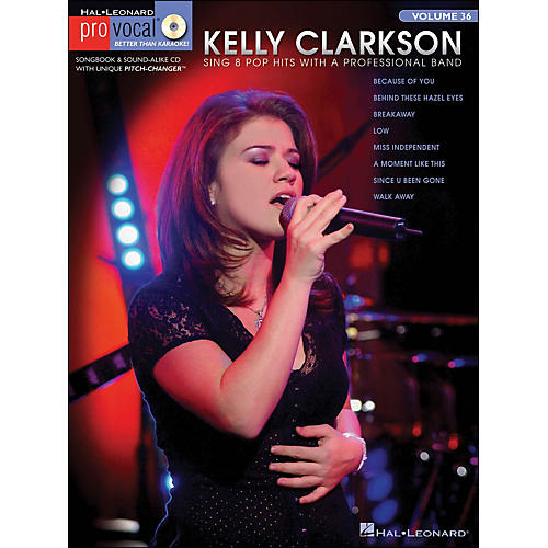 Hal Leonard Kelly Clarkson - Pro Vocal Series Book/CD Volume 15-thumbnail