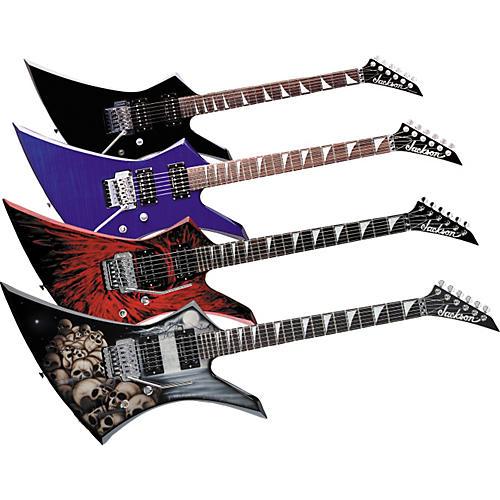 Jackson Kelly KE-3 Electric Guitar Transparent Red