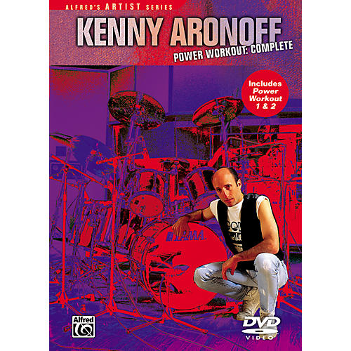 Alfred Kenny Aronoff - Power Workout Complete 1 and 2 DVD Set-thumbnail